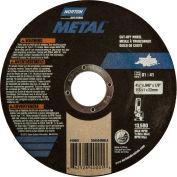 "Norton 66252840001 Metal Right Angle Cut-Off Wheel 4-1/2"" x .045"" x 7/8"" 36 Grit Alum. Oxide Type 1 - Pkg Qty 250"