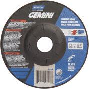 "Norton 66252842172 Gemini Grinding Wheel 5"" x 1/4"" x 7/8"" 24 Grit Aluminum Oxide"