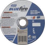 "Norton 66252842174 BlueFire Right Angle Cut-Off Wheel 6"" x 1/16"" x 7/8"" 36 Grit Alum. Oxide T1 - Pkg Qty 25"