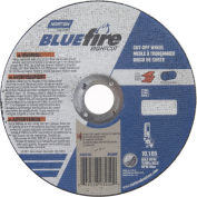 "Norton 66252843210 BlueFire Right Angle Cut-Off Wheel 6"" x 1/16"" x 7/8"" 36 Grit Alum. Oxide T1 - Pkg Qty 25"