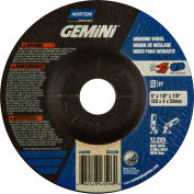 "Norton 66252843596 Gemini Grinding and Cutting Wheel 5"" x 1/8"" x 7/8"" 24 Grit Aluminum Oxide - Pkg Qty 25"