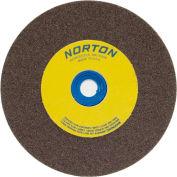 "Norton 66253161393 Gemini Bench and Pedestal Wheel 10"" x 1-1/2"" x 1-1/4"" 36 Grit Aluminum Oxide"