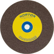 "Norton 66253263052 Gemini Bench and Pedestal Wheel 12"" x 1-1/2"" x 1-1/2"" 36 Grit Aluminum Oxide"