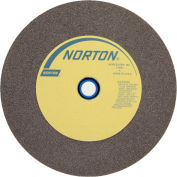 "Norton 66253263053 Gemini Bench and Pedestal Wheel 12"" x 1-1/2"" x 1-1/2"" 60 Grit Aluminum Oxide"