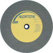 "Norton 66253263360 Gemini Bench and Pedestal Wheel 12"" x 2"" x 1-1/4"" 80 Grit Silicon Carbide"