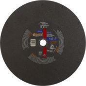 "Norton 66253306626 Gemini Chop Saw Cut-Off Wheel 14"" x 3/32"" x 1"" 36 Grit Aluminum Oxide Type 1 - Pkg Qty 10"