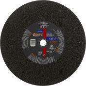 "Norton 66253313588 Gemini Chop Saw Cut-Off Wheel 14"" x 3/32"" x 1"" 36 Grit Aluminum Oxide Type 1 - Pkg Qty 10"