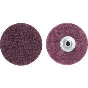"""Norton 66261009182 Bear-Tex Non-Woven Quick-Change Disc 2"""" Dia. MED Grit Aluminum Oxide Type II - Pkg Qty 50"""