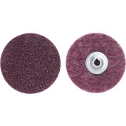 "Norton 66261009185 Bear-Tex Non-Woven Quick-Change Disc 3"" Dia. MED Grit Aluminum Oxide Type II - Pkg Qty 25"