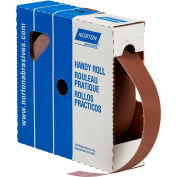 "Norton 66261126288 Metalite Cloth Roll 1-1/2""W x 50 Yds. Aluminum Oxide P80 Grit"