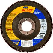 "Norton 66261183487 Blaze Fiberglass Conical Flap Disc T29 4-1/2"" x 7/8"" 40 Grit Seeded Gel Ceramic - Pkg Qty 10"