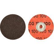 "Norton 66623318999 Neon Quick-Change Cloth Disc 2"" Dia. P36 Grit Zirconia Alumina Type II - Pkg Qty 100"