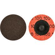 "Norton 66623319006 Neon Quick-Change Cloth Disc 2"" Dia. P40 Grit Zirconia Alumina Type III - Pkg Qty 100"