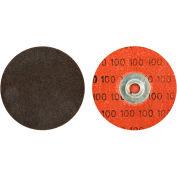 "Norton 66623319023 Neon Quick-Change Cloth Disc 3"" Dia. P50 Grit Zirconia Alumina Type II - Pkg Qty 50"