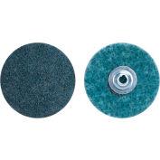 "Norton 66623325049 Bear-Tex Non-Woven Quick-Change Disc 1-1/2"" Dia. VF Grit Aluminum Oxide Type II - Pkg Qty 50"