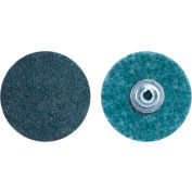 """Merit 66623340047 Abrasotex Non-Woven Quick-Change Disc 1-1/2"""" Dia. VF Grit Aluminum Oxide Type II - Pkg Qty 50"""