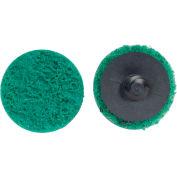 "Norton 66623340085 Bear-Tex Non-Woven Quick-Change Disc 3"" Dia. FIN Grit Aluminum Oxide Type III - Pkg Qty 25"