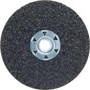 "Norton 77696009702 Neon Fiber Locking Disc 4-1/2"" Dia. 24 Grit Aluminum Oxide - Pkg Qty 10"