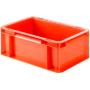 "SSI Schaefer Euro-Fix Solid Container EF3120 - 12"" x 8"" x 5"", Red"