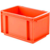 """SSI Schaefer Euro-Fix Solid Container EF3170 - 12"""" x 8"""" x 7"""", Red"""