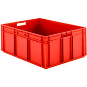 """SSI Schaefer Euro-Fix Solid Container EF8320 - 23-3/4"""" x 31-1/2"""" x 12-5/8"""", Red"""
