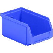 SSI Schaefer  LF060503.0BL1 - 5 x 6 x 3 LF Hopper Front Plastic Stacking Bin, Blue,  - Pkg Qty 50