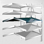"""Steel Pick Shelf Kit, Double, Tilt/Tilt, 50""""W x 48""""D"""