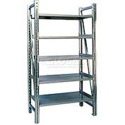 "Steel Pick Shelving, 5 Level, Single, Straight, 78""H x 50""W x 24""D, Starter"