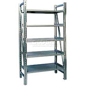 "Steel Pick Shelving, 5 Level, Single, Straight, 78""H x 50""W x 32""D, Starter"