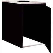 """Single Recycle Cabinet - 30""""W x 27-3/4""""D x 39-15/32""""H (Gloss Black)"""
