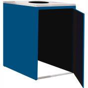 "Single Recycle Cabinet - 30""W x 27-3/4""D x 39-15/32""H (Monaco Blue)"