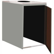 """Single Recycle Cabinet - 30""""W x 27-3/4""""D x 39-15/32""""H (Sebring Gray)"""