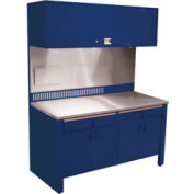 Realiti® Workcenter-Stationary w /  Stainless Steel Top-St.Louis Blue