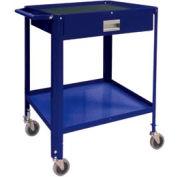 "Mini Technician Cart-22-1/4""W x 18-1/4""D x 34""H-St.Louis Blue"