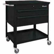"Shure Tech Select Cart-Portable, 29-1/2""W x 18-3/4""D x 34-7/8""H-Gloss Black"