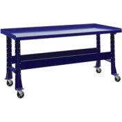 "Trans Max Bench-Portable, Steel Top, 73-1/2""W x 34-1/4""D-St.Louis Blue"