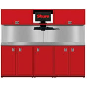 Shuretech STS-S2-8' Bench System-Carmine Red