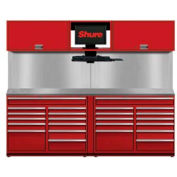 Shuretech STS-S3-8' Bench System-Carmine Red