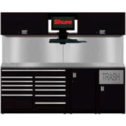 Shuretech STS-S4-8' Bench System-Gloss Black