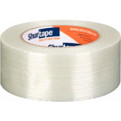 "Shurtape® Fiberglass Reinforced Strapping Tape GS501 2"" x 60 Yds Clear - Pkg Qty 24"