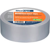 Shurtape SF 682 ShurFLEX® Non-Printed Metalized Cloth Duct Tape 48mm x 55m - Pkg Qty 24