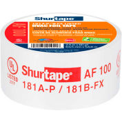 "Shurtape, Hvac Printed, Alum. Foil Tape, Af 100, Ul181a-P/B-Fx Listed, 2-1/2""x60yd,Silver - Pkg Qty 16"