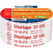 "Shurtape, Shurmastic Indoor/Outdoor Roll Mastic, Sf 686, Ul 181b-Fx, 2"" X 100ft, Silver - Pkg Qty 24"