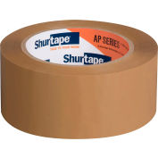 "Shurtape® Carton Sealing Tape AP201 2"" x 110 Yds 2 Mil Tan - Pkg Qty 36"