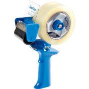 "Shurtape® Standard Pistol Grip Tape Dispenser, 9-7/16""L x 2-13/16""W x 7-5/8""H, Blue"