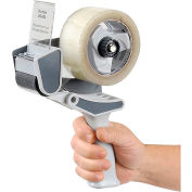 "Shurtape® Professional Pistol Grip Tape Dispenser, 2-13/16""L x 2-13/16""W x 8-1/2""H, Gray"