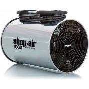 "Shop-Vac 1034000 Wall/Ceiling Mount Air Circulator, 11"" Dia., 1/4 HP, 1000 CFM, 120V, 15Ft. Cord"