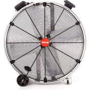 "Shop-Vac Industrial Drum Fan 1181100, 42"" Dia., 3/4 HP, Belt Drive, 16,500 CFM, Stainless Steel"