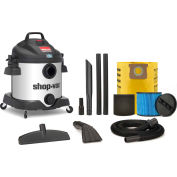Shop-Vac® 8 Gallon Stainless Steel 5.5 Peak HP SS Contractor Wet Dry Vacuum - 5870810