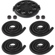 "Shop-Vac 9041400 Multi-Directional Airflow Adapter, 16"" Dia. Adapter, 4 Hoses, 4 Caps"